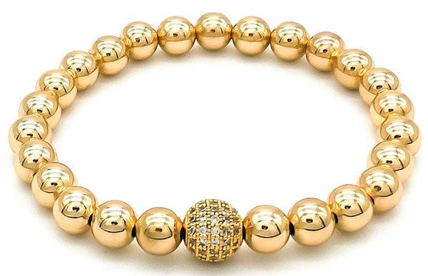 Armband 24K Gold - Diamonds