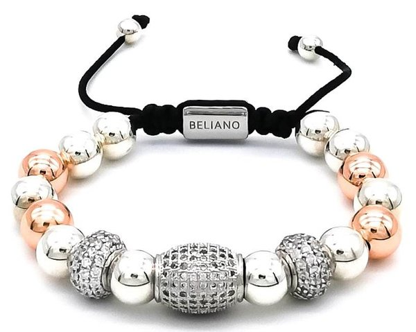 Armband Big Bang - 925 Silber - 18K Rosegold - Diamonds