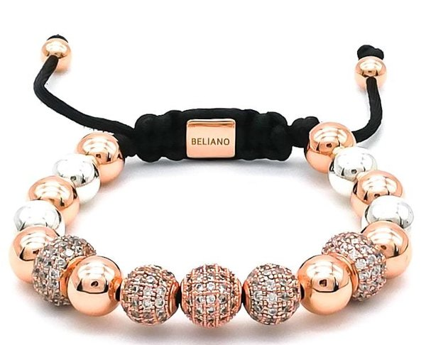 Armband Big Bang - 18K Rosegold - 925 Silber - Diamonds