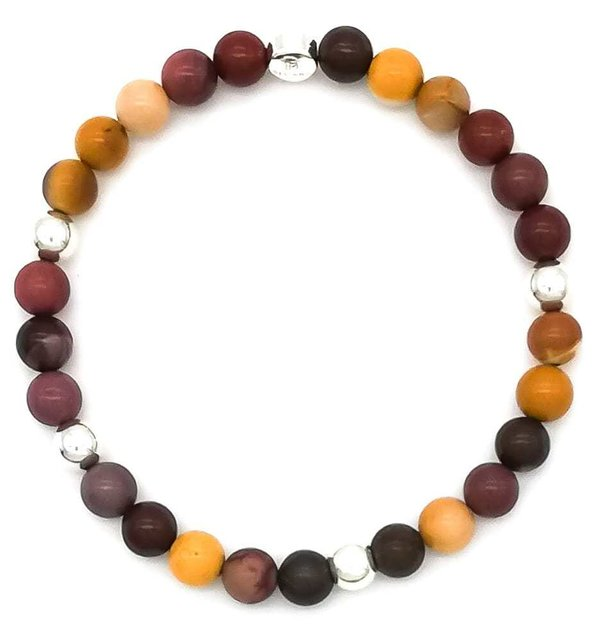 Armband Autumn Colors - Mookait - 925 Silber